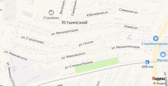 Улица Гоголя в Моршанске с номерами домов на карте. Спутник и схема онлайн