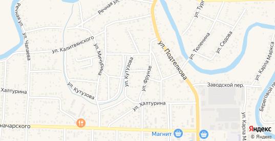 Переулок Нахимова в Морозовске с номерами домов на карте. Спутник и схема онлайн