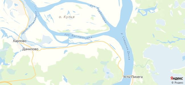 Труфаново на карте