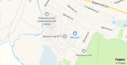 Южная улица в Моршанске с номерами домов на карте. Спутник и схема онлайн