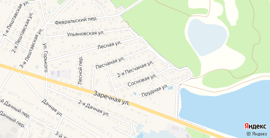 2-я Песчаная улица в Моршанске с номерами домов на карте. Спутник и схема онлайн