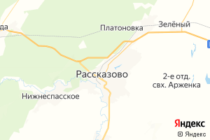 Карта г. Рассказово