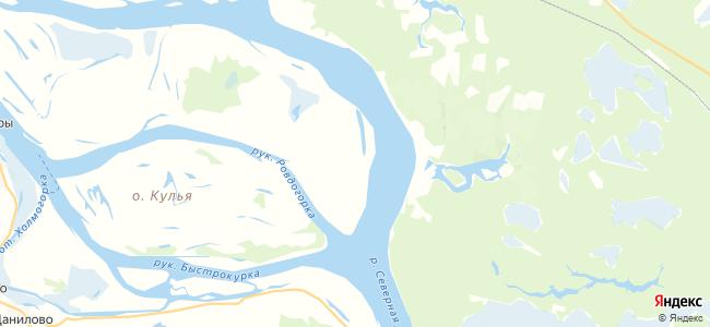 Трехновская на карте