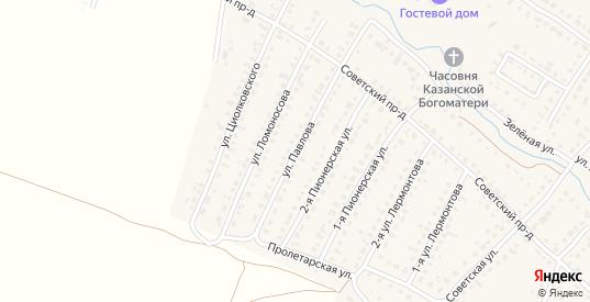 Улица Павлова в Сасово с номерами домов на карте. Спутник и схема онлайн