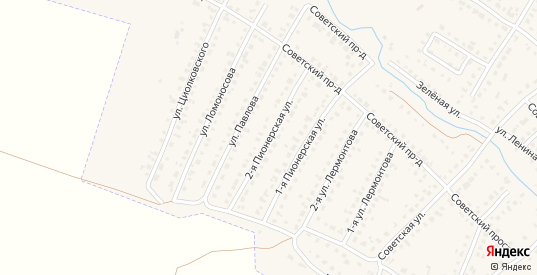 Пионерская улица в Сасово с номерами домов на карте. Спутник и схема онлайн