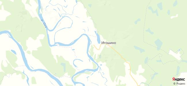 Сенин Пчельник на карте