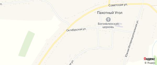 Набережная улица на карте села Пахотного Угла Тамбовской области с номерами домов