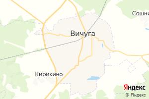 Карта г. Вичуга Ивановская область