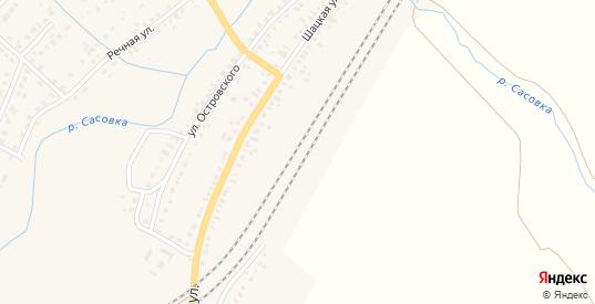 Казарма 379 км в Сасово с номерами домов на карте. Спутник и схема онлайн