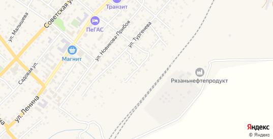 Набережная улица в Сасово с номерами домов на карте. Спутник и схема онлайн