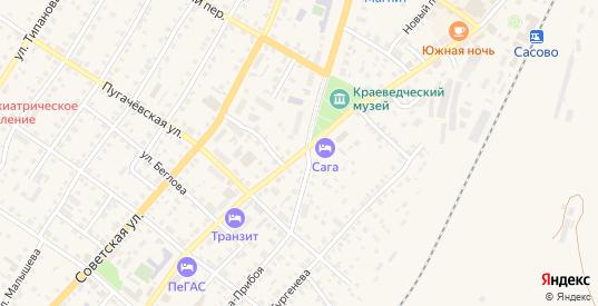 Восточная улица в Сасово с номерами домов на карте. Спутник и схема онлайн