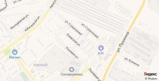 Улица Мичурина в Сасово с номерами домов на карте. Спутник и схема онлайн