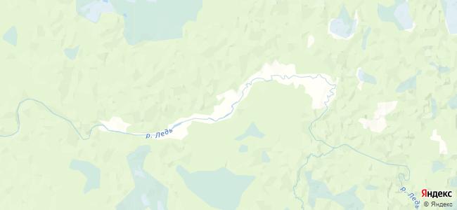Раковская на карте