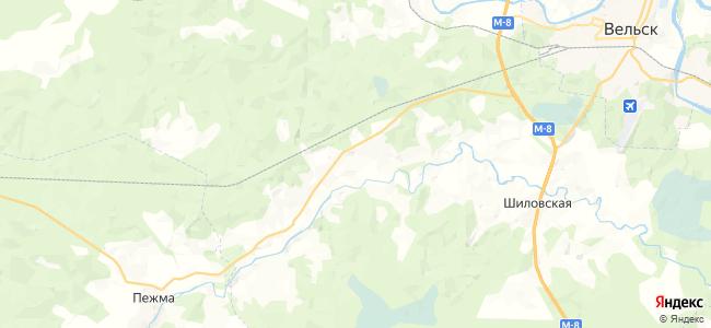 Скомовская на карте