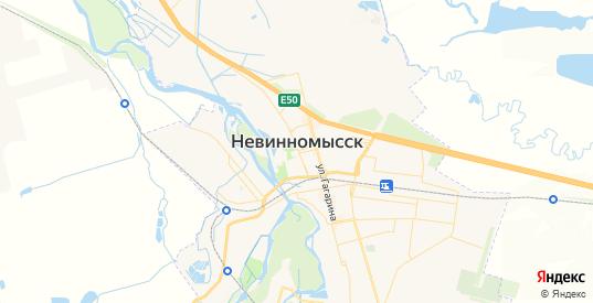 Карта Невинномысска с улицами и домами подробная. Показать со спутника номера домов онлайн