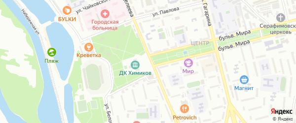 Территория гт Стрела на карте Невинномысска с номерами домов
