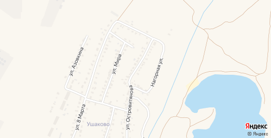 Улица Островитянова в Сасово с номерами домов на карте. Спутник и схема онлайн