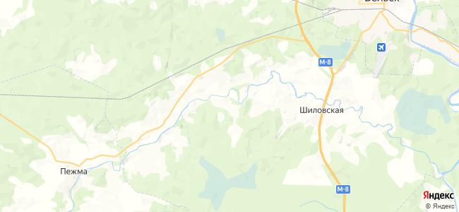 Пахотинская на карте