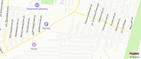 Васильевский проезд на карте Невинномысска с номерами домов