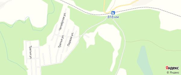 Карта садового некоммерческого товарищества Сота Рябинки в Архангельской области с улицами и номерами домов
