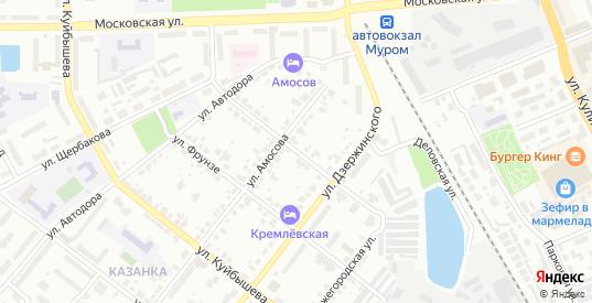 Улица Пушкина в Муроме с номерами домов на карте. Спутник и схема онлайн