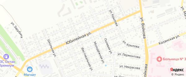 Молодежная улица на карте Мурома с номерами домов