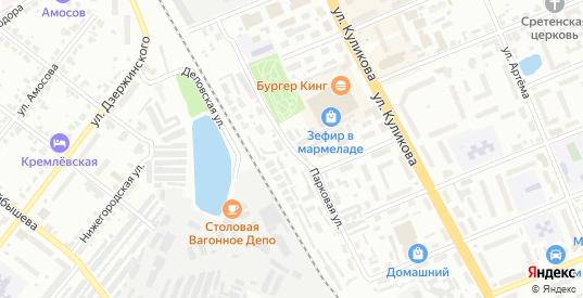 Парковая улица в Муроме с номерами домов на карте. Спутник и схема онлайн
