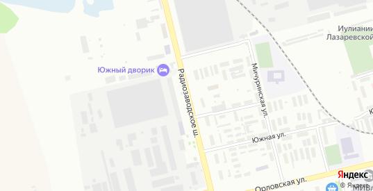 Радиозаводское шоссе в Муроме с номерами домов на карте. Спутник и схема онлайн