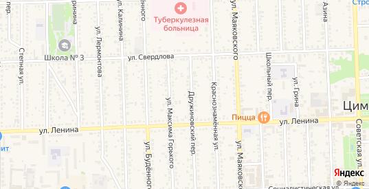 Улица Александра Грина в Цимлянске с номерами домов на карте. Спутник и схема онлайн