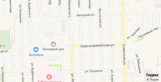 Улица Белинского в Цимлянске с номерами домов на карте. Спутник и схема онлайн