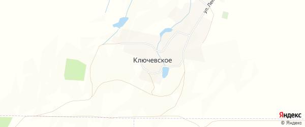 Карта Ключевского села в Ставропольском крае с улицами и номерами домов