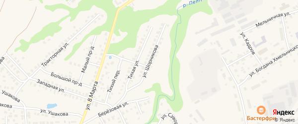 Улица Шорникова на карте Вязников с номерами домов