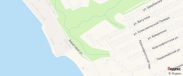 Улица Емельяна Ярославского на карте Заволжска с номерами домов