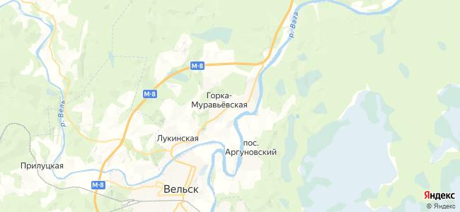 Петуховская на карте