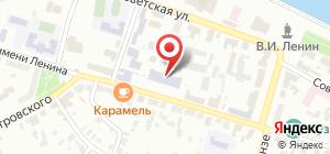 Колледж ОГБОУ СПО Кинешемский педагогический колледж на карте Кинешмы