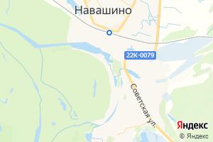 Карта г. Навашино Нижегородская область