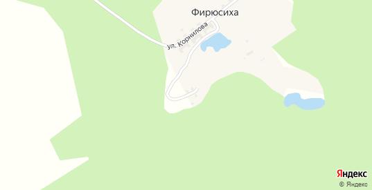 Улица 8 Марта в поселке Фирюсиха в Выксе с номерами домов на карте. Спутник и схема онлайн