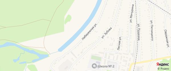 Набережная улица на карте Навашино с номерами домов