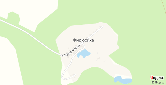 Железнодорожная станция Кирпичный разъезд в поселке Фирюсиха в Выксе с номерами домов на карте. Спутник и схема онлайн