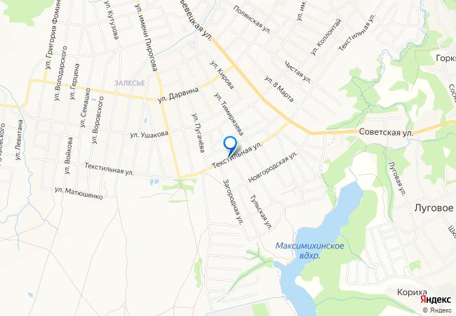 Советская улица на карте Кинешмы с номерами домов — MapData.ru | 450x650