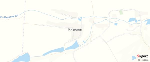 Карта хутора Кизилов в Ставропольском крае с улицами и номерами домов