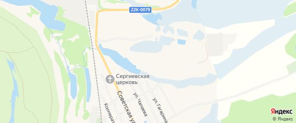 Карта территории СНТ N2 Смородинки города Навашино в Нижегородской области с улицами и номерами домов