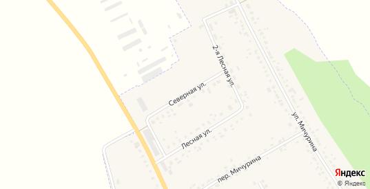 Северная улица в Уварово с номерами домов на карте. Спутник и схема онлайн