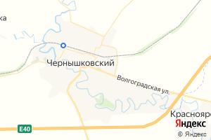 Карта пос. Чернышковский Волгоградская область