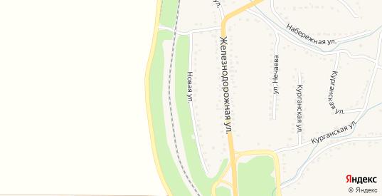 Новая улица в Уварово с номерами домов на карте. Спутник и схема онлайн