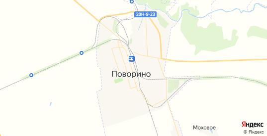 Карта Поворино с улицами и домами подробная. Показать со спутника номера домов онлайн