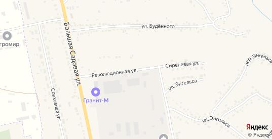 Сиреневая улица в Уварово с номерами домов на карте. Спутник и схема онлайн