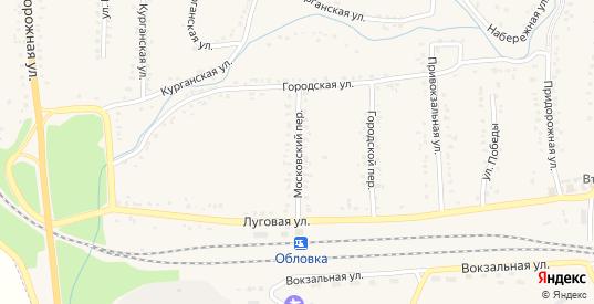 Московский переулок в Уварово с номерами домов на карте. Спутник и схема онлайн