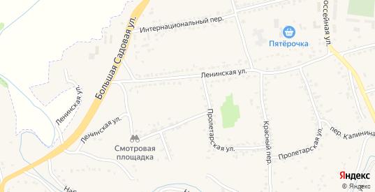 Улица Николая Лазина в Уварово с номерами домов на карте. Спутник и схема онлайн