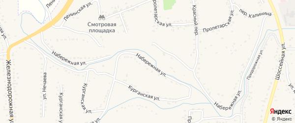 Набережная улица на карте Уварово с номерами домов